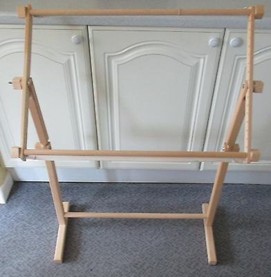 Adjustable Floor Standing Embroidery/tapestry Frame