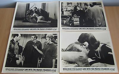 """Love with the Proper Stranger - Set of 8 10"""" x 8"""" lobby cards"""