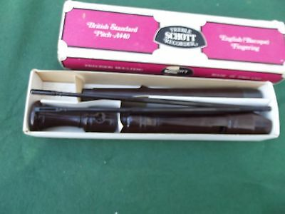 Treble Schott Recorder English (Baroque) Fingering Boxed