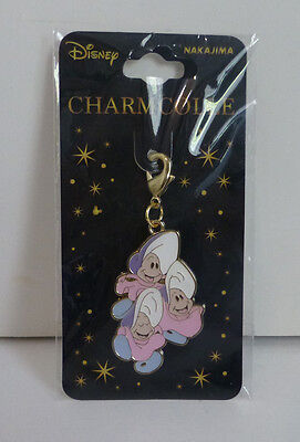 Japan Disney Alice in Wonderland Young Baby Oysters Zipper Pull Charm