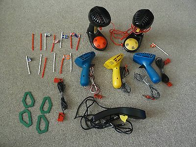 (JOB LOT) 6 Controller Throttle inc 2 Mega Sound Megasound, Flags, Magazine etc!
