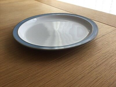Denby Colonial Blue Large Side Plates/Small Diner Plate