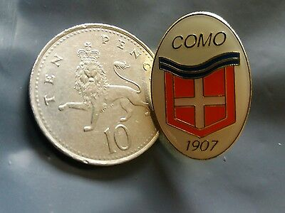 vintage Calcio Como pin badge