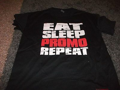 WWE Official Paul Heyman Promo T-shirt Large TNA WCW ROH ECW Progress ICW T-shir