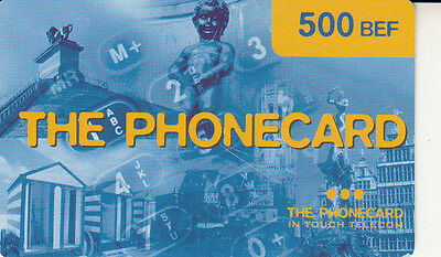 The phonecard 500BEF