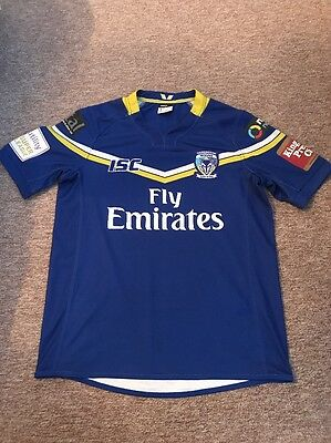 Warrington Wolves Wire Rugby Shirt Size Small Men's