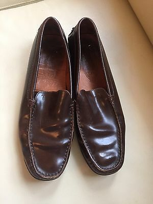 Vintage TOD'S Women's Gommino Leather Driving Shoe 7