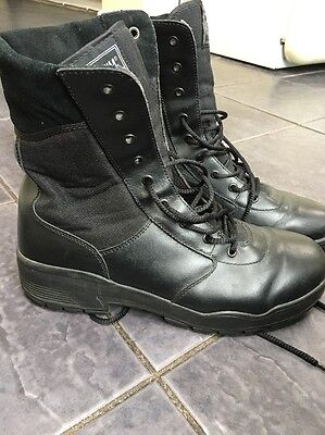 Magnum Classic Boots Size 11 9 Eyelet Combat Black Army Cadets