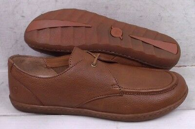 Born Womens Lisbet Brown Leather Casual Flats Oxfords Shoes D52041 size 9 M