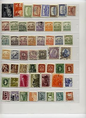 Small collection of mostly older Hungarian stamps