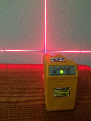 Pacific Laser Systems PLS 180 Red Beam Level USED