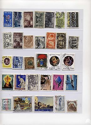 Small collection of mostly older Italian stamps (1)
