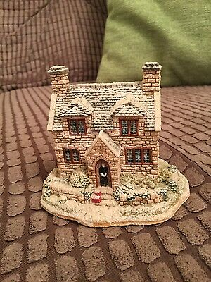 The Vicarage by lilliput lane