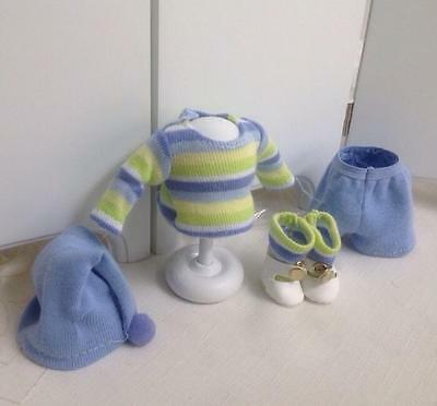 Cute Bunky In Blue Outfit for Ginny Boy