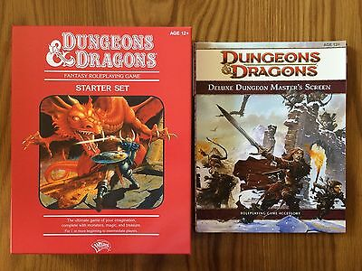 DUNGEONS & DRAGONS: Starter Set Red Box (4th Edition) - NEW With Extras!!