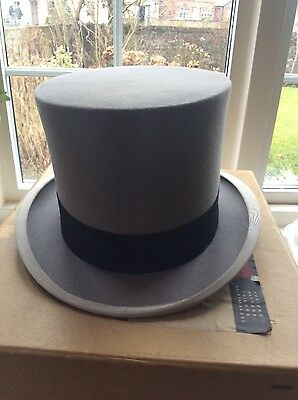 Grey Top Hat by Woodrow and Sons  Of Piccadilly London in Original Box