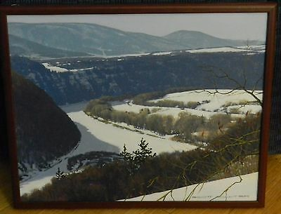 Scott Coulter Signed Painting Original ACRYLIC ON CANVAS FINE ART