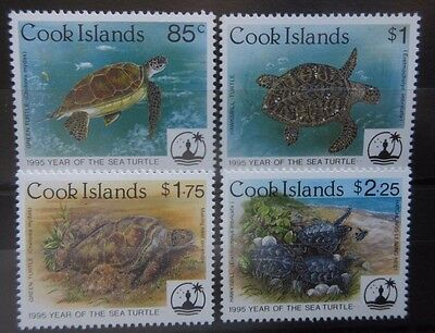 Cook Islands 1995 Year of The Sea Turtle Set. MNH.