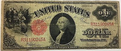 United States $1  Legal Tender Note 1917