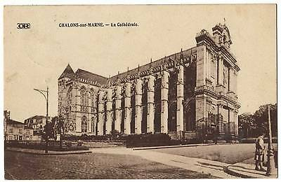 CPA 51 Chalons sur MARNE la cathedrale