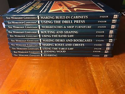 The Workshop Companion Book set Lot of 10 Engler Woodworking