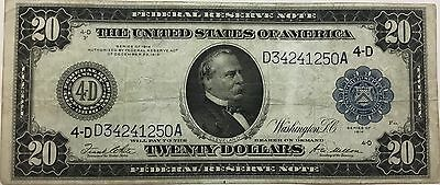 UNITED STATES $20 Federal Reserve Note 1914 Cleveland