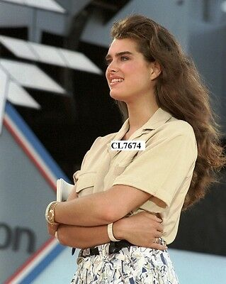Brooke Shields During Celebration of 75th Anniversary of Naval Aviation Photo