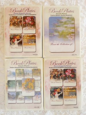Laurel Ink NEW BOOK PLATES IMPRESSIONISTS 4 Packages of multiple Art Book Plates