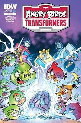 Angry Birds Transformers #1 in Near Mint condition. FREE bag/board