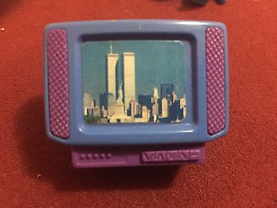 Extremely Rare Twin Towers Toy Television,9/11 Al- Qaeda
