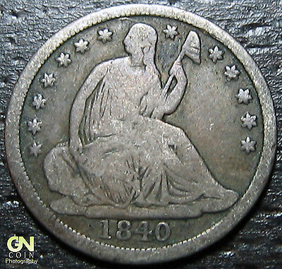 1840 P Seated Half Dime  --  MAKE US AN OFFER!  #O9964