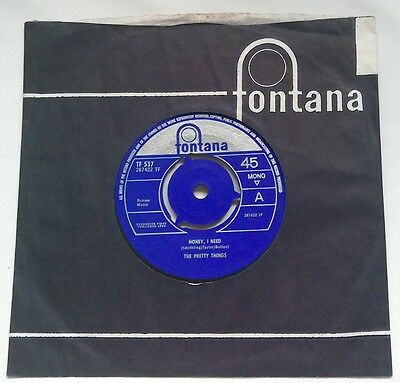 RARE FREAKBEAT BLUES 45 The Pretty Things Honey I Need NM TOP COPY Can Never Say