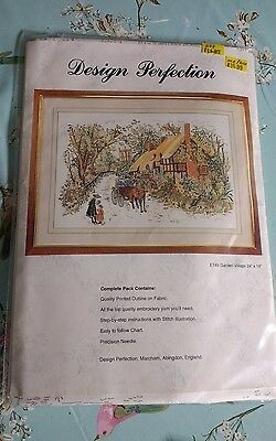 PERFECT PERFECTION GARDEN VILLAGE EMBROIDERY KIt (NEW)
