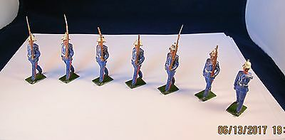 Vintage Britains Set of Early Royal Marines(i think) Not the same as previous!