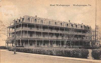 Hotel Wachapreague Virginia H S Fosque and Bros
