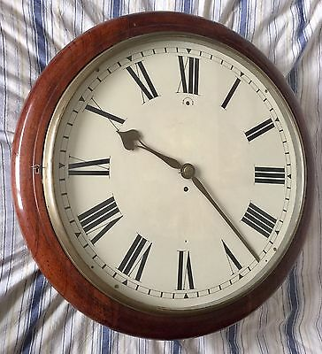 A Massive 16 Inch English Fusee Dial Clock of the Highest Quality