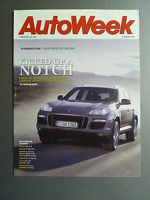 2007 Porsche Cayenne Showroom Sales Brochure RARE!! Awesome L@@K