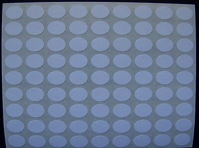 "500 All Purpose Removable Adhesive Price Labels Tags Stickers Oval ½"" x 3/8"""