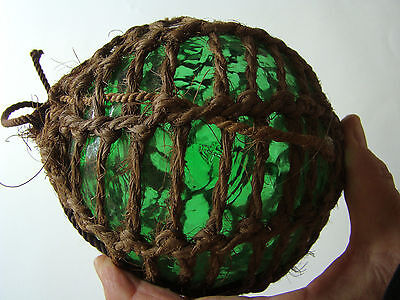 Excellent Emerald 4 authentic glass fishing float