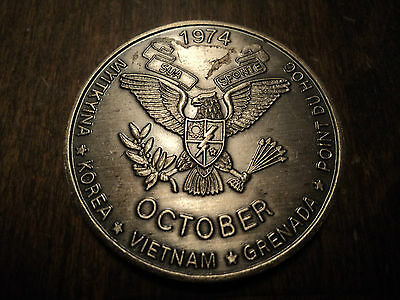 US ARMY SPECIAL FORCES GROUP VIETNAM WAR ERA CHALLENGE COIN (Lot 6)