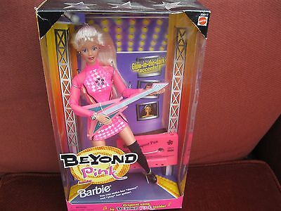 Barbie Vintage Beyond the Pink . Interactive . dance and play guitar