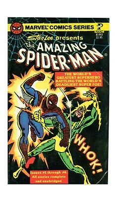 The Amazing Spider-Man#1 and #2 (Sep 1977, Pocket Books)
