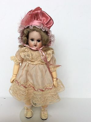Antique German Bisque Doll - E. Winkler Puppe #1910 Mold