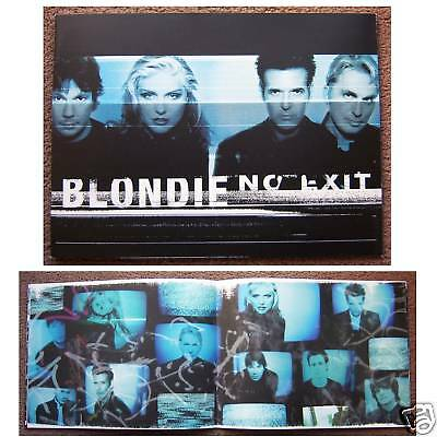 Blondie! Deborah Harry No Exit Tour Book New Mint