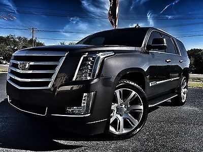 "2016 Cadillac Escalade PREMIUM 4X4 DVD 1 OWNER ESCALADE*PREMIUM*4X4*DVD*BOSE*MOONROOF*1 OWNER*CARFAX CERT*22""S*WE FINANCE*FLA"