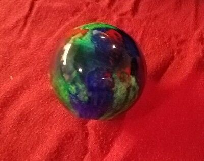 Beautiful~Unique Murano Glass Ball~Paperweight Paper Weight~ Dark Blue/Red/Green