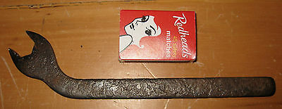 Vintage TAPPET ADJUSTING WRENCH SCREW AND NUT spanner auto car vehicle engine