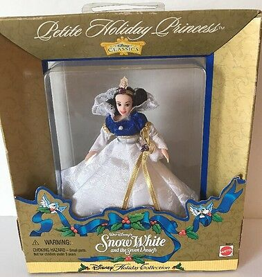 Mattel Snow White Disney 1998 Petite Holiday Princess Collection Ornament