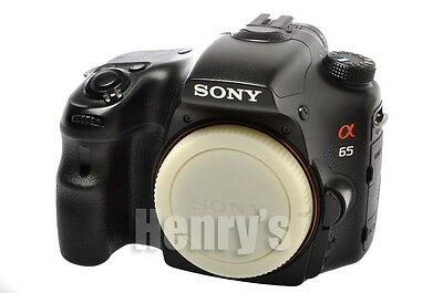 "Sony Alpha A65 24.3Mp Dslr Camera Body/slt-A65V/3""lcd/aps-C Sensor/cmos/used/$1"