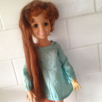Vintage Ideal 1969 Toy Chrissy Doll And Original Clothes